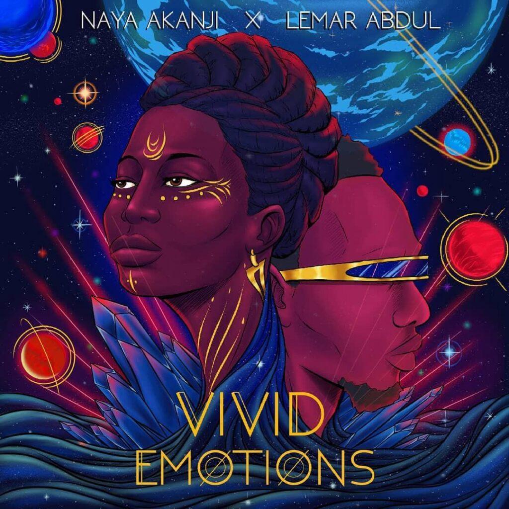 Vivid Emotions by Naya Akanji Album Art