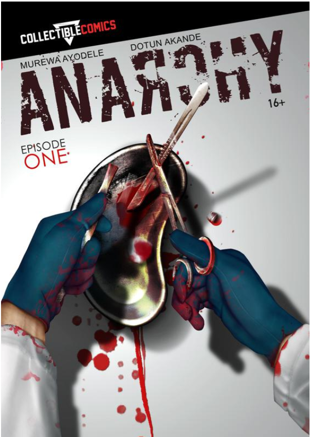 Anarchy Front cover